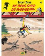 LUCKY LUKE, NIEUW LOOK, DEEL 064 : DE BRUG OVER DE MISSISSIPPI