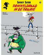LUCKY LUKE, NIEUW LOOK DEEL 029 : PRIKKELDRAAD IN DE PRAIRIE
