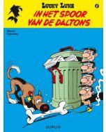 LUCKY LUKE, NIEUW LOOK DEEL 017 : IN HET SPOOR VAN DE DALTONS