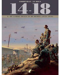 14 - 18 , DEEL 009 : OP AARDE ZOALS IN DE HEMEL ( JULI 1918 )