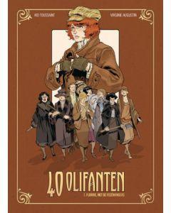 40 OLIFANTEN, DEEL 001 : FLORRIE, MET DE FEEËNVINGERS