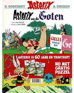 ASTERIX SPECIAL, DEEL 003: ASTERIX EN DE GOTEN + PUZZEL 60 JARIG JUBILEUM EDITIE