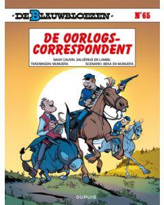 DE BLAUWBLOEZEN, DEEL 065 : DE OORLOGSCORRESPONDENT