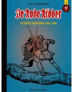 DE RODE RIDDER, LUXE INTEGRAAL DEEL 005 : DE EERSTE AVONTUREN