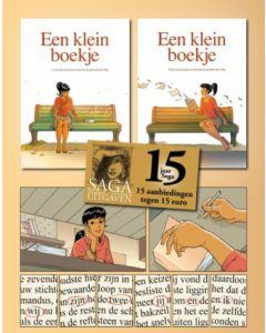 15 AANBIEDINGEN TEGEN 15 EURO : EEN KLEIN BOEKJE,  DEEL 1 & 2 HARDCOVER