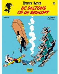 LUKY LUKE, NIEUW LOOK DEEL 063 : DE DALTONS OP DE BRUILOFT