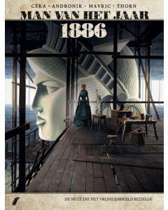 MAN VAN HET JAAR, DEEL 011 : 1886 - DE MUZE DIE HET VRIJHEIDSBEELD INSPIREERDE
