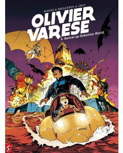 OLIVIER VARESE, DEEL 003 : AANVAL OP KOKONINO WORLD