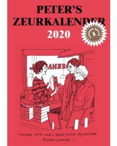 PETER VAN STRAATEN ZEURKALENDER 2020