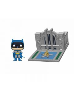 POP! BATMAN WITH THE HALL OF JUSTICE
