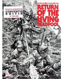 RETURN OF LIVING DEADPOOL EXCLCLUSIEVE CONVENTIE EDITIE SET