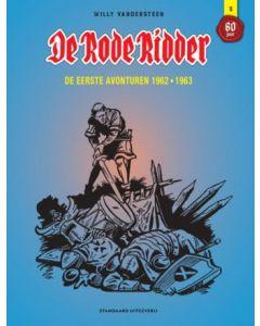 DE RODE RIDDER INTEGRAAL DEEL 003 : DE EERSTE AVONTUREN 1962 - 1963