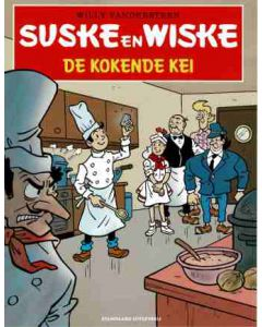 SUSKE EN WISKE KORTVERHALEN, DEEL 006 : DE KOKENDE KEI