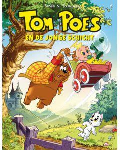 TOM POES EN DE JONGE SCHICHT, DEEL 008 HC MET PRENT