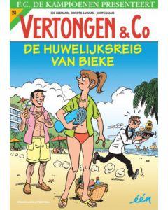 F.C.DE KAMPIOENEN, VERTONGEN & CO, DEEL 028 : DE HUWELIJKSREIS VAN BIEKE